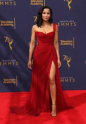 2018 Creative Arts Emmy Awards - Los Angeles. 09 Sep 2018 Pictured: Padma Lakshmi. Photo credit: Jaxon / MEGA TheMegaAgency.com +1 888 505 6342
