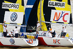 2008 Monsoon Cup. First round robins. Peter Gilmour and Adam Minoprio(Thursday  4rd December 2008). .