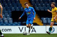 Elliot Newby. Stockport County FC 1-1 Hartlepool United FC. Vanarama National League. Edgeley Park. 27.3.21