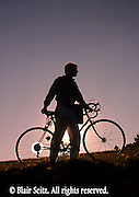 Bicycling, Pennsylvania, Outdoor recreation, Biking in PA, Mountain Bike at Sunset