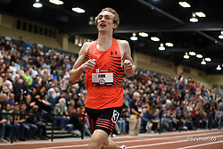 2020 USATF Indoor Championship<br /> Albuquerque, NM 2020-02-15<br /> photo credit: © 2020 Kevin Morris<br /> mens 3000m, Under Armour