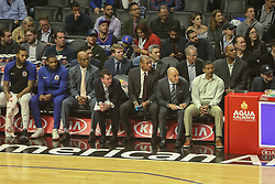December 17, 2018 - Los Angeles, CA, U.S. - LOS ANGELES, CA - DECEMBER 17: Clippers coach staff on the bench during the Portland Trail Blazers at Los Angeles Clippers NBA game on December 17, 2018 at Staples Center in Los Angeles, CA.. (Photo by Jevone Moore/Icon Sportswire) (Credit Image: © Jevone Moore/Icon SMI via ZUMA Press)