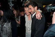 ANITA PALLENBERG; MARK JACOBS, Mark Jacobs' Bang' fragrance preview. Harvey Nicholls. London. 22 July 2010. -DO NOT ARCHIVE-© Copyright Photograph by Dafydd Jones. 248 Clapham Rd. London SW9 0PZ. Tel 0207 820 0771. www.dafjones.com.