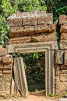 small gateway Ta Prohm Angkor Wat Cambodia