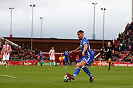Ruben Loftus-Cheek of Chelsea in action. Premier league match, Stoke City v Chelsea at the Bet365 Stadium in Stoke on Trent, Staffs on Saturday 18th March 2017.<br /> pic by Andrew Orchard, Andrew Orchard sports photography.