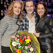 NLD/Amsterdam/20150213 - Supriseparty GTST collega's jarige Guido Spek, Jette van der Meij, Guido en Marjolein Keuning