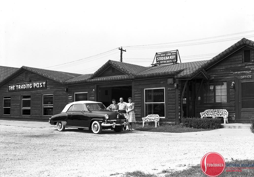 1947 Champion Convertible at Dave Lowe Motor Sales.