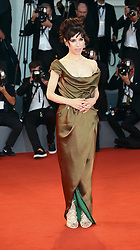 Sally Hawkins  walks the red carpet ahead of the 'The Shape Of Water' screening during the 74th Venice Film Festival in Venice, Italy, on August 31, 2017. (Photo by Matteo Chinellato/NurPhoto/Sipa USA)