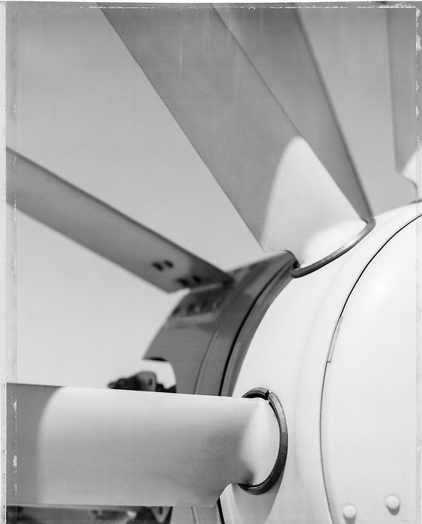 Tail rotor detail of a Eurocopter 120B.