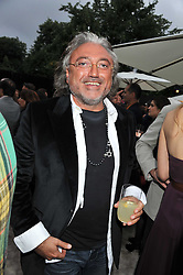 ROBERT TCHENGUIZ at the annual Serpentine Gallery Summer Party sponsored by Burberry held at the Serpentine Gallery, Kensington Gardens, London on 28th June 2011.