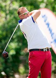 David Hopf of Australia during Slovenia Long Drivers European Tour  Championship on July 5, 2014 in  Golf Arboretum Ljubljana, Volcji Potok, Slovenia. Photo By Vid Ponikvar / Sportida
