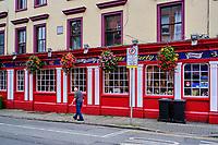 République d'Irlande, Dublin, le pub Liberty Belle, quartier des Liberty // Republic of Ireland; Dublin, Liberty Belle pub, Liberty area