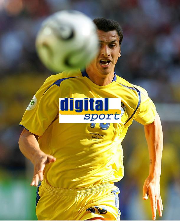 Zlatan Ibrahimovic Schweden<br /> Fussball WM 2006 Trinidad und Tobago - Schweden <br /> Sverige<br /> <br /> Norway only