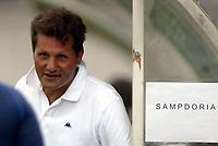 Trento 4/8/2004 Amichevole - Friendly match Fiorentina Sampdoria 3-2 <br /> <br /> Nella foto: Walter Novellino Sampdoria trainer - allenatore della Sampdoria<br /> Photo Jay / Graffiti