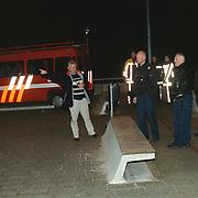 Zoekactie politie en brandweer Huizen naar verdacht pakket Harderwijkerzand en Gooimeer