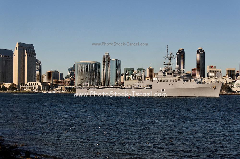 USA, California, San Diego USS Cleveland