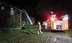 Egham House Fire Overnight