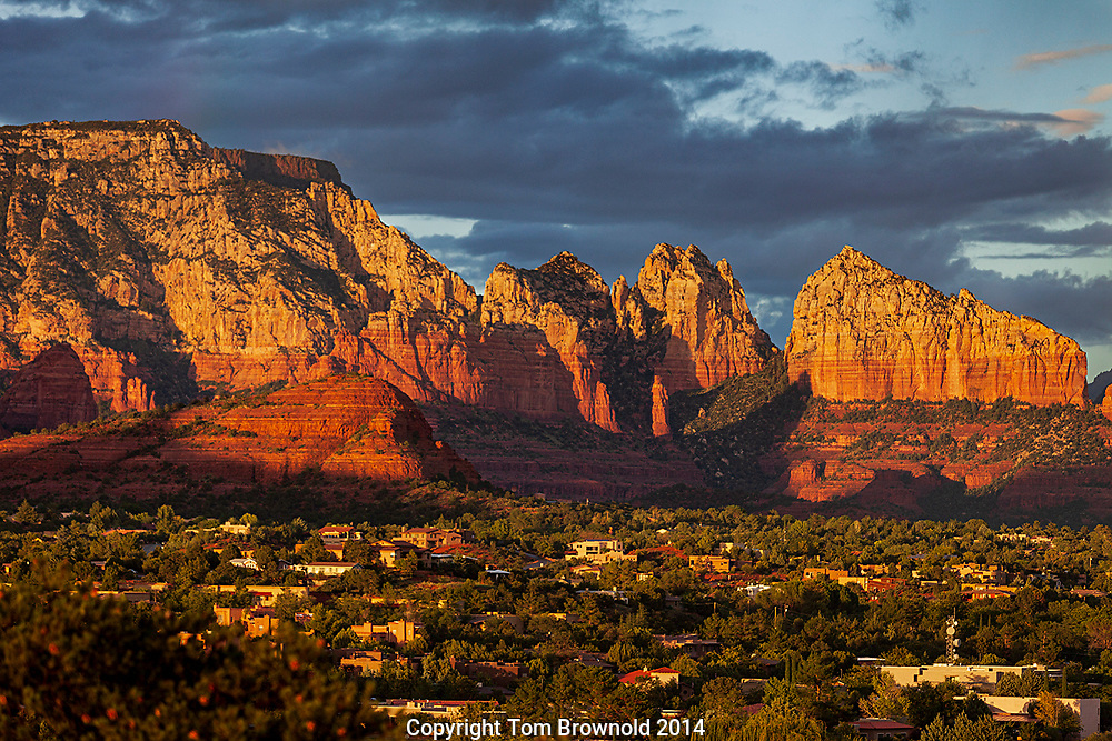 Capitol Butte and Sedona homes