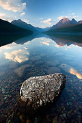 Bowman Lake, Glacier National Park. Montana.