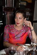 PRINCESS TAMARA CZARTORYSKI; IAN PENMAN, Dinner in aid of the China Tiger Revival hosted by Sir David Tang and Stephen Fry  at China Tang, Park Lane, London. 1 October 2013. ,