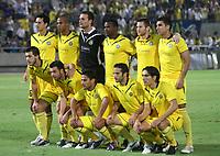 Fotball<br /> Lagbilde<br /> Foto: imago/Digitalsport<br /> NORWAY ONLY<br /> <br /> 05.08.2010<br /> Qualifikation für die Euroleague Saison 2010/11 Maccabi Tel Aviv: Mannschaftsfoto von Maccabi Tel Aviv