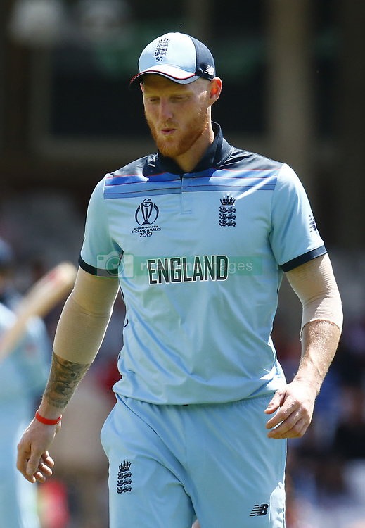May 27, 2019 - London, England, United Kingdom - Ben Stokes of England.during ICC Cricket World Cup - Warm - Up between England and Afghanistan at the Oval Stadium , London,  on 27 May 2019. (Credit Image: © Action Foto Sport/NurPhoto via ZUMA Press)