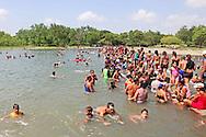 Summer at the river in Bayamo, Granma, Cuba.