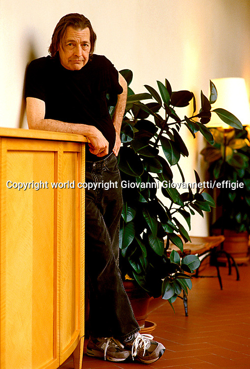 Nick Tosches<br />world copyright Giovanni Giovannetti/effigie / Writer Pictures<br /> <br /> NO ITALY, NO AGENCY SALES / Writer Pictures<br /> <br /> NO ITALY, NO AGENCY SALES