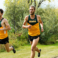 Matt Johnson and Sean Hooper competes during the annual Cougar Trot on September 17 at Douglas Park. Credit: Arthur Ward/Arthur Images
