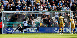 Daniel Johnson of Preston North End scores his sides first goal  - Mandatory by-line: Matt McNulty/JMP - 05/08/2017 - FOOTBALL - Deepdale - Preston, England - Preston North End v Sheffield Wednesday - Sky Bet Championship