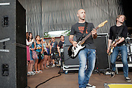 Simple Plan performed at the 2011 Vans Warped Tour at Shorleline Amphitheater in Mountain View, California on July 2, 2011. Simple Plan, a multiplatinum Montreal Canadian rock band, is also known for the Simple Plan Foundation that benefits many charities around the world.