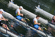 Lucerne, SWITZERLAND.    SLO M2X. Bow Luka SPIK and Iztok COP, moving away from the start pontoons.  2012 FISA World Cup II, Lucerne Regatta.  Rotsee Rowing Course,  Friday  25/05/2012  [Mandatory Credit Peter Spurrier/ Intersport Images]