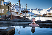 Siglufjörður, Iceland, 6 apr 2019, Scenes in the port.