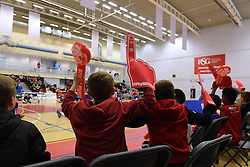 Bristol Flyers fans - Mandatory byline: Dougie Allward/JMP - 12/03/2016 - FOOTBALL - SGS Wise Campus - Bristol, England - Bristol Flyers v Glassgow Rocks - British Basketball League