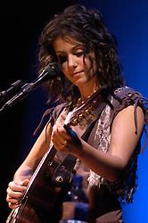 Katie Melua at Sheffield Hallam FM Arena.25 January 2006.Copyright Paul David Drabble/Aileen Deeprose