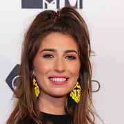 NLD/Amsterdam/20181029 - MTV pre party 2018, zwangere Xelly Cabau van Kasbergen