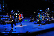 The Rolling Stones on stage, 14 on Fire tour, Perth, Western Australia