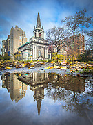 Former building of the First Church of Christ, Scientist is in Manhattan, New York City