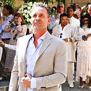 ITA/Siena/20100717 Wedding of soccerplayer Wesley Sneijder and tv host Yolanthe Cabau van Kasbergen, Erik Kusters