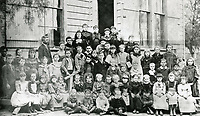1880 Students at Cahuenga Township School at Normandie & Beverly Blvds.