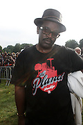 Fab 5 Freddy at the Spike Lee's Brooklyn celebration for Michael Jackson's Birthday held at the Neader field in Prospect Park, Brooklyn on August 29, 2009..Filmmaker Spike Lee celebrates the ' King of Pop ' Birthday with a crowd packed party remembering the recently departing All time Great with a day long spinning of his music in Brooklyn's own Prospect Park