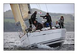Savills Kip Regatta 2011, the opening regatta of the Scottish Yachting Circuit, held on the Clyde...Elf Too, First 40, GBR 4041 R