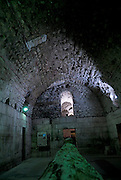 Underground vaults, Palace of Diocletian, Split, Croatia