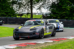 Liz Walton pictured while competing in the BRSCC Mazda MX-5 SuperCup Championship. Picture taken at Cadwell Park on August 1 & 2, 2020 by BRSCC photographer Jonathan Elsey