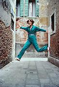 Margaret in Venice, Italy