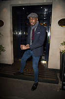 """Ben Ofoedu at Friederike Krum after party celebrating the launch of her album """"Somebody Loves Me: The Songs Of Gershwin"""" at Tramp on February 06, 2020 iLondon, England"""