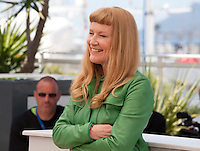 Director Andrea Arnold at the American Honey film photo call at the 69th Cannes Film Festival Sunday 15th May 2016, Cannes, France. Photography: Doreen Kennedy