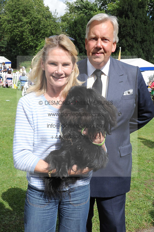 LADY MARY-GAYE CURZON and her dog Poppet and DAVID McDONOUGH at the Macmillan Dog Day in aid of Macmillan Cancer Support held at the Royal Hospital Chelsea, London on 8th July 2008.<br /><br />NON EXCLUSIVE - WORLD RIGHTS