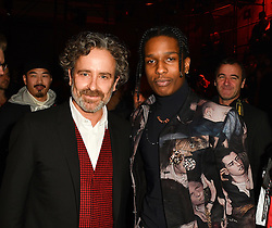 Dan Witz and Asap Rocky attend the Dior Homme Menswear Fall/Winter 2017-2018 show as part of Paris Fashion Week on January 21, 2017 in Paris, France. Photo by Laurent Zabulon/ABACAPRESS.COM