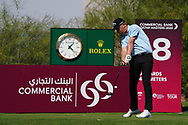 Jeff Winther (DEN) on the 18th during Round 1 of the Commercial Bank Qatar Masters 2020 at the Education City Golf Club, Doha, Qatar . 05/03/2020<br /> Picture: Golffile   Thos Caffrey<br /> <br /> <br /> All photo usage must carry mandatory copyright credit (© Golffile   Thos Caffrey)